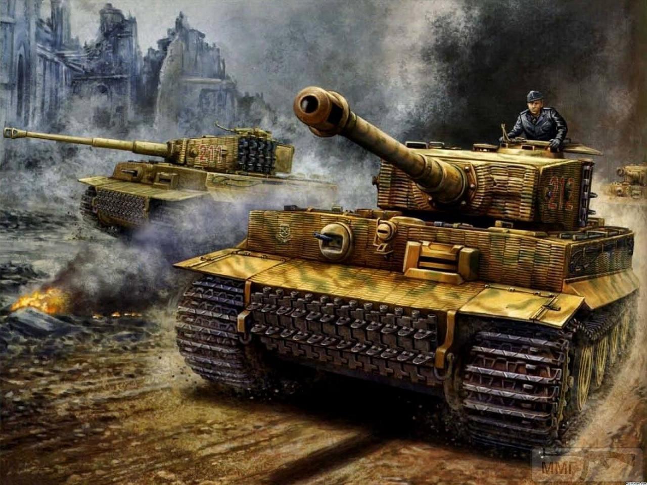 55665 - Танк Тигр - лучший танк Второй Мировой Войны?
