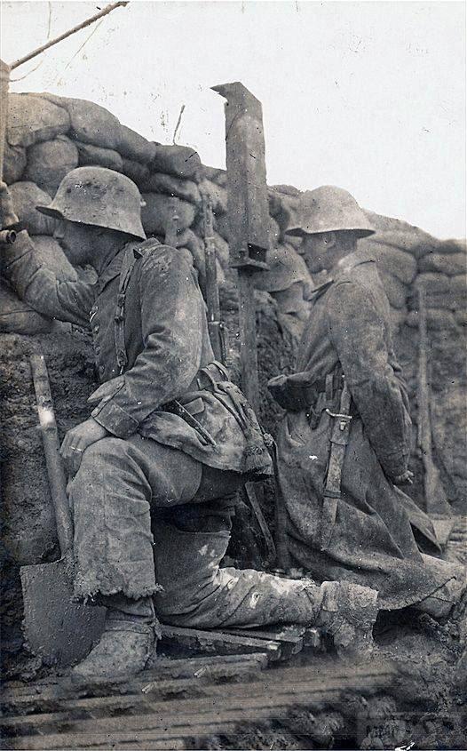 55756 - Военное фото. Западный фронт. 1914-1918г.г.