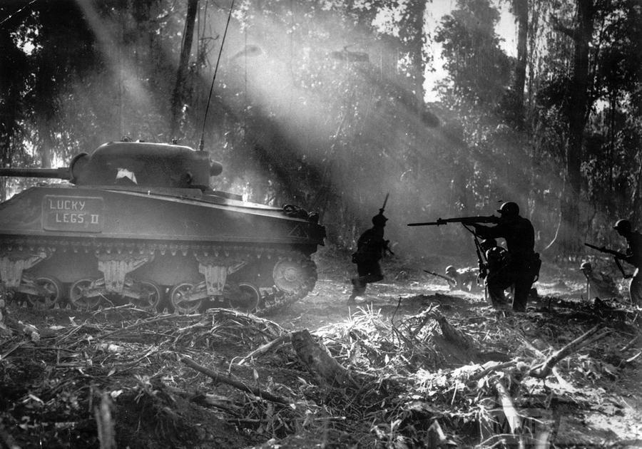 55924 - Военное фото 1941-1945 г.г. Тихий океан.