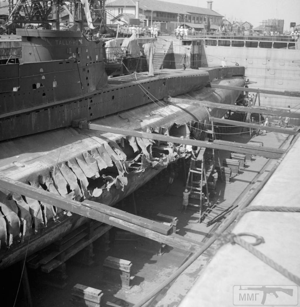55929 - Военное фото 1941-1945 г.г. Тихий океан.