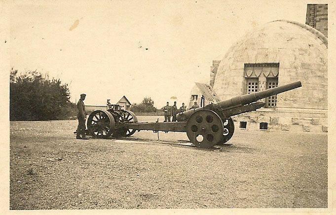 5603 - 13cm K09 захваченное Вермахтом во Франции, 1940 год