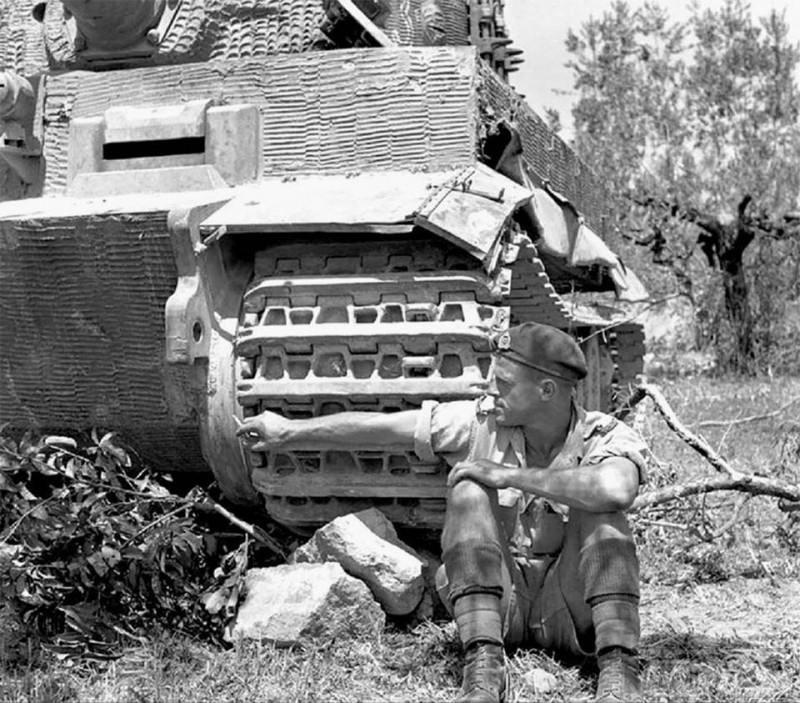 56041 - Военное фото 1939-1945 г.г. Западный фронт и Африка.