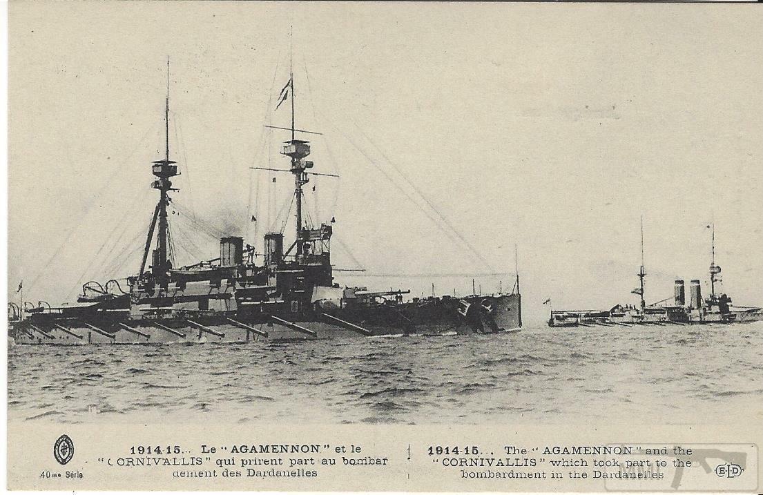 56134 - Броненосцы, дредноуты, линкоры и крейсера Британии