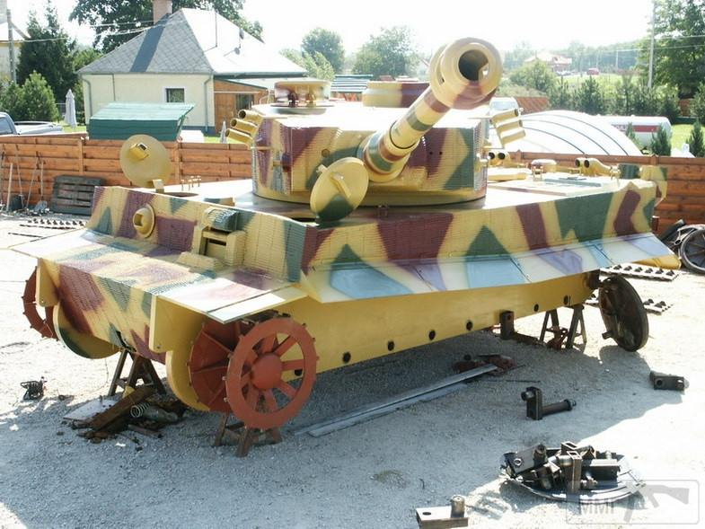 56208 - Деревянный танк