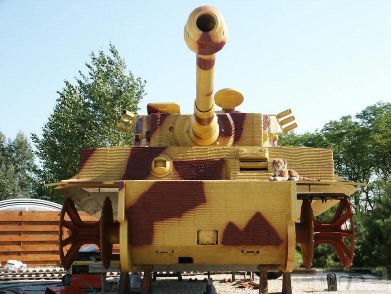 56209 - Деревянный танк