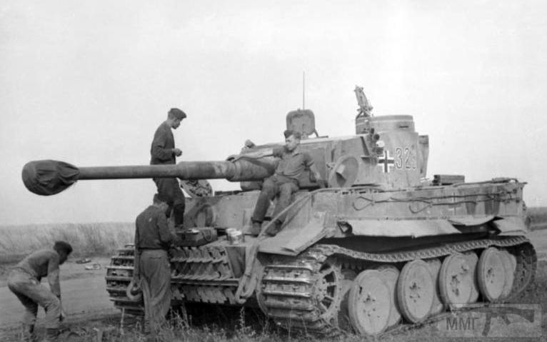 56313 - Танк Тигр - лучший танк Второй Мировой Войны?