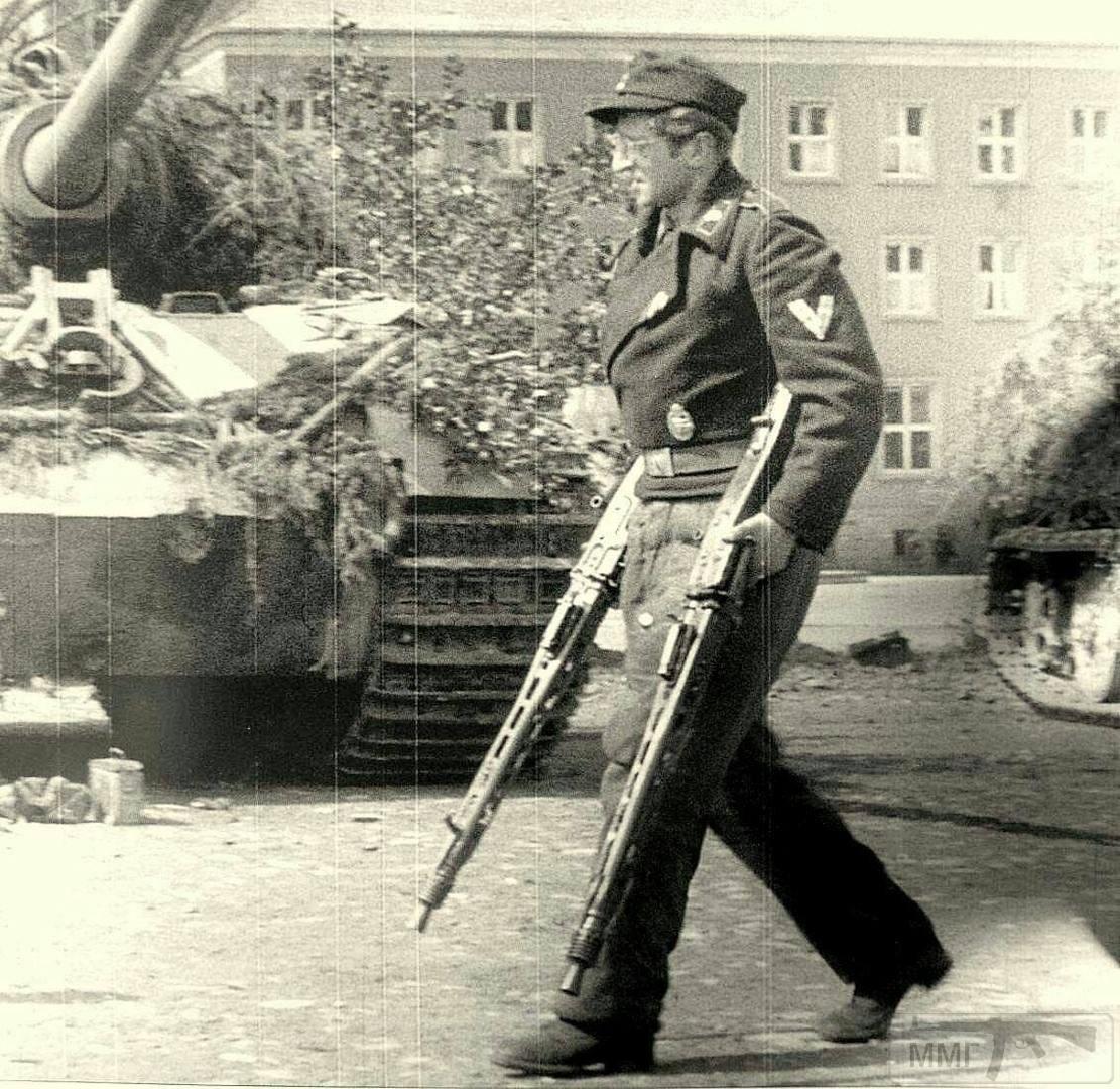 56361 - MG-42 Hitlersäge (Пила Гитлера) - история, послевоенные модификации, клейма...