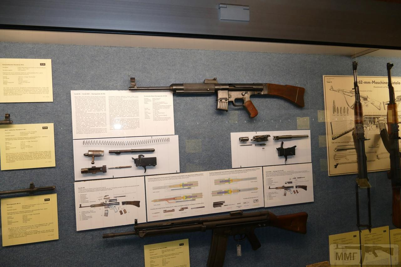 56377 - Sturmgewehr Haenel / Schmeisser MP 43MP 44 Stg.44 - прототипы, конструкция история