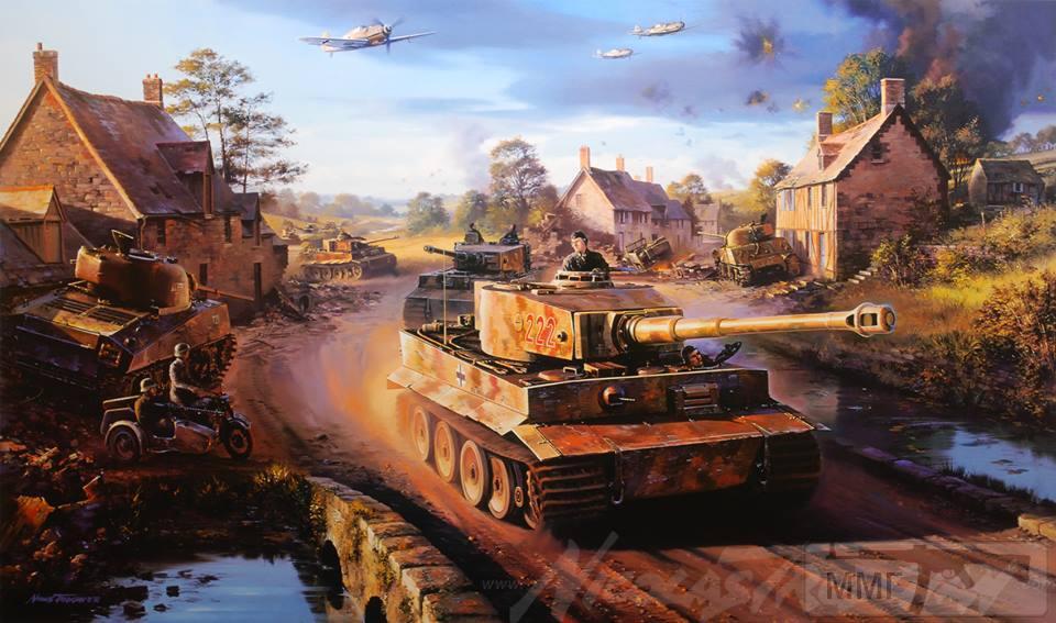 56459 - Танк Тигр - лучший танк Второй Мировой Войны?