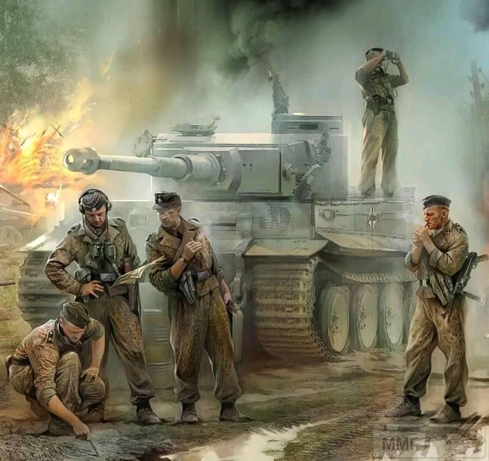 56460 - Танк Тигр - лучший танк Второй Мировой Войны?