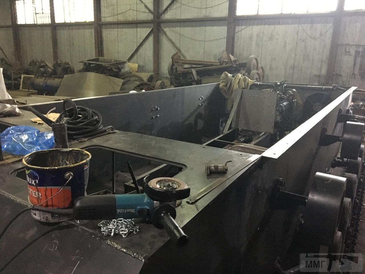56637 - Деревянный танк