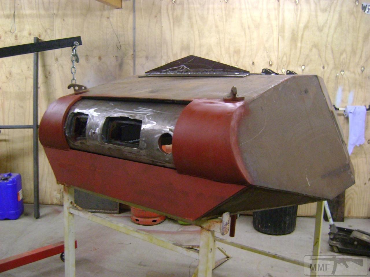 56644 - Деревянный танк