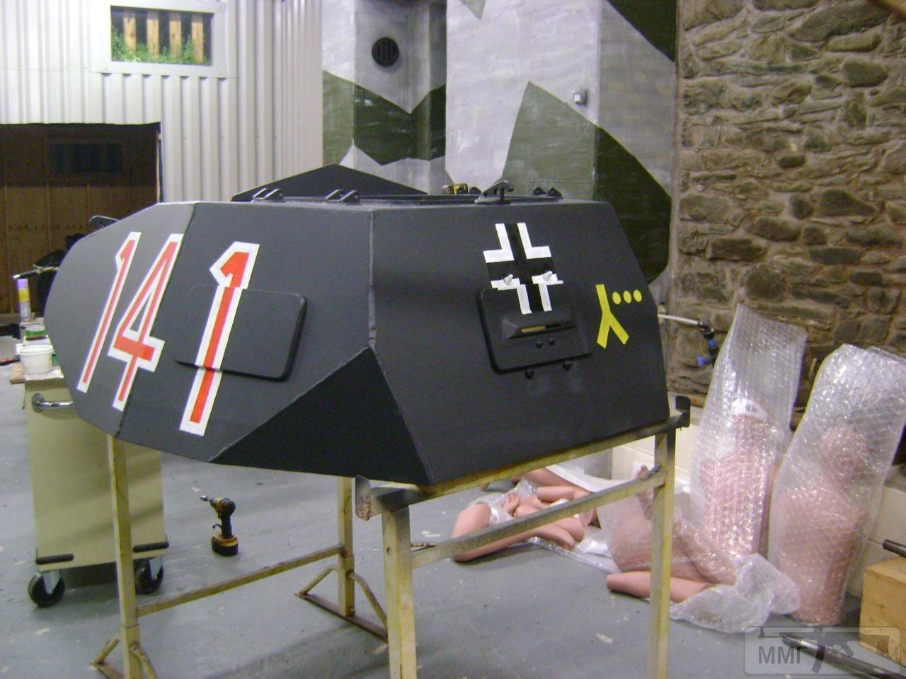 56645 - Деревянный танк
