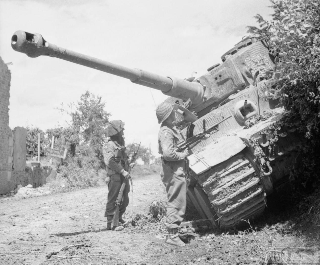 56833 - Танк Тигр - лучший танк Второй Мировой Войны?