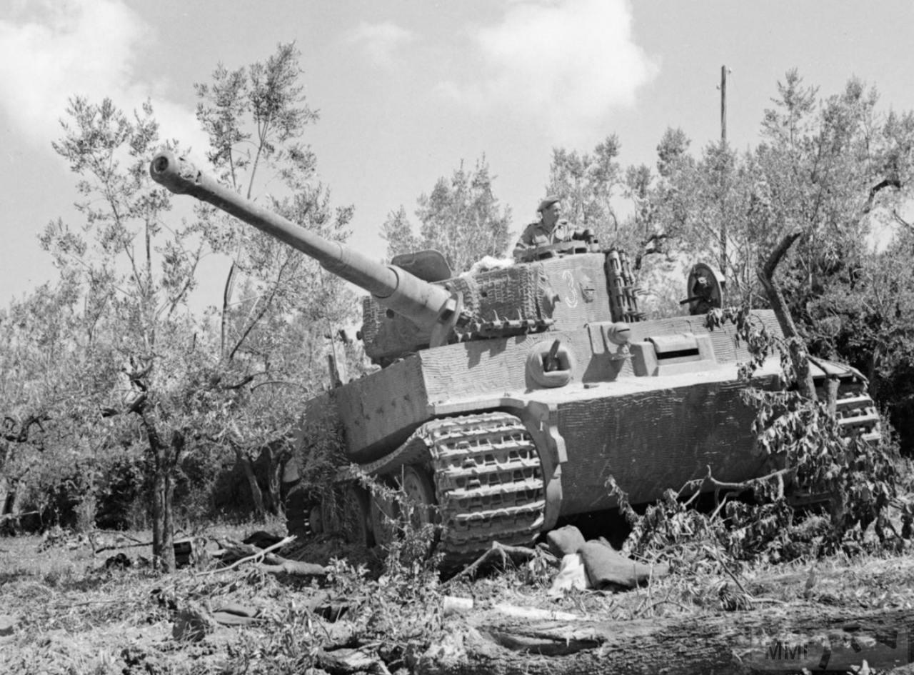 56834 - Танк Тигр - лучший танк Второй Мировой Войны?