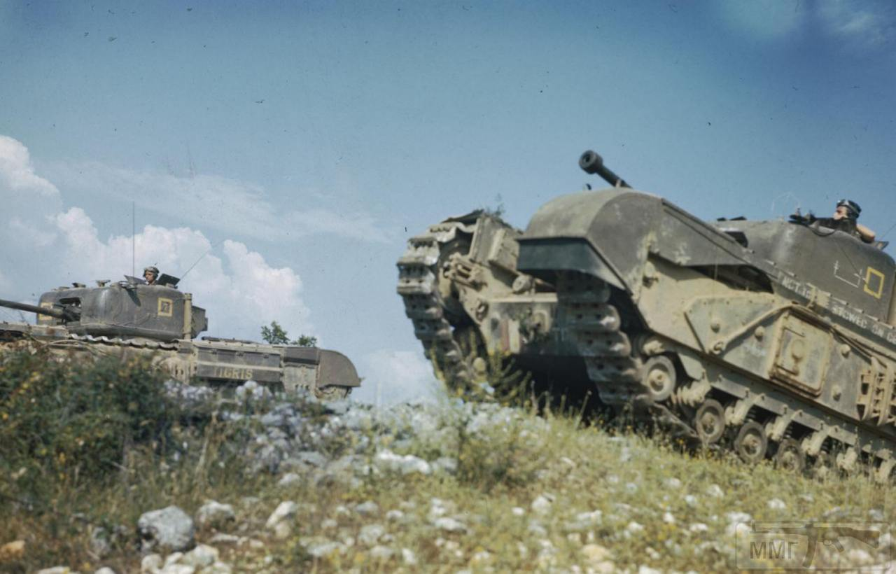 57168 - Британские танки Второй мировой