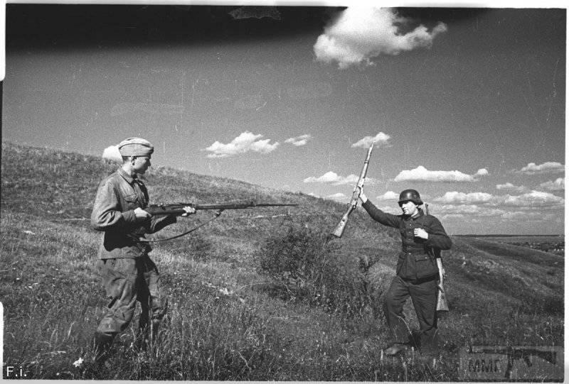 58079 - Военное фото 1941-1945 г.г. Восточный фронт.