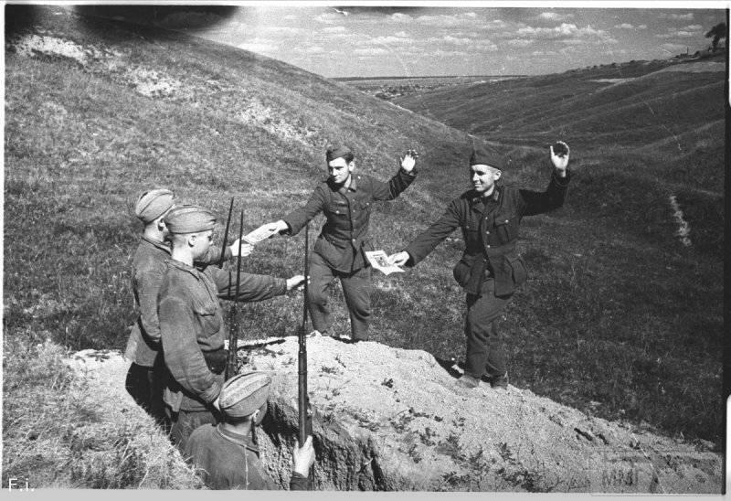 58080 - Военное фото 1941-1945 г.г. Восточный фронт.
