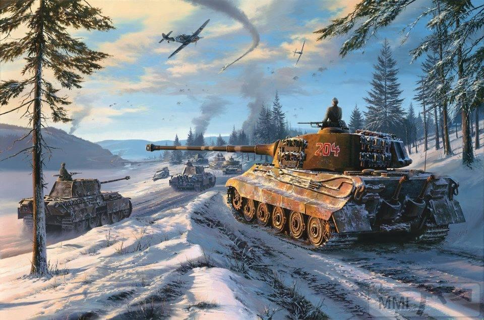 58247 - Танк Тигр - лучший танк Второй Мировой Войны?