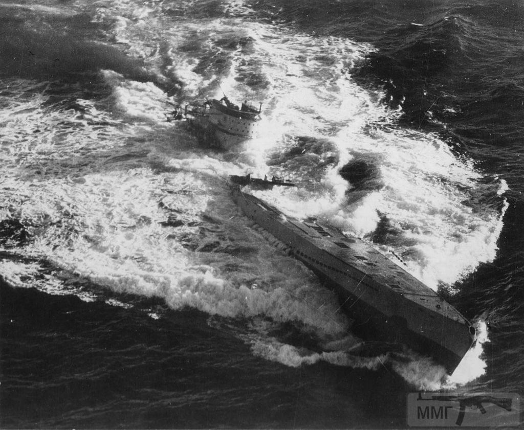 59172 - Действия немецких подлодок в Атлантике