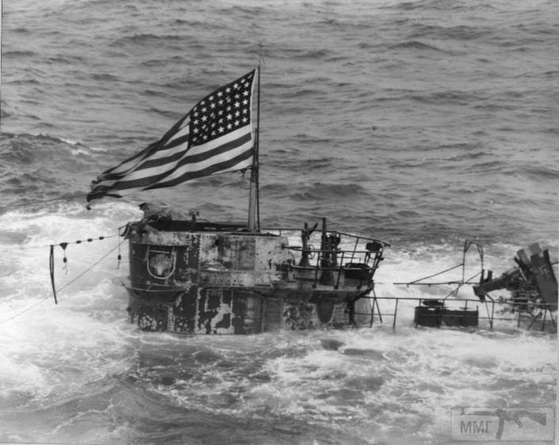59197 - Действия немецких подлодок в Атлантике