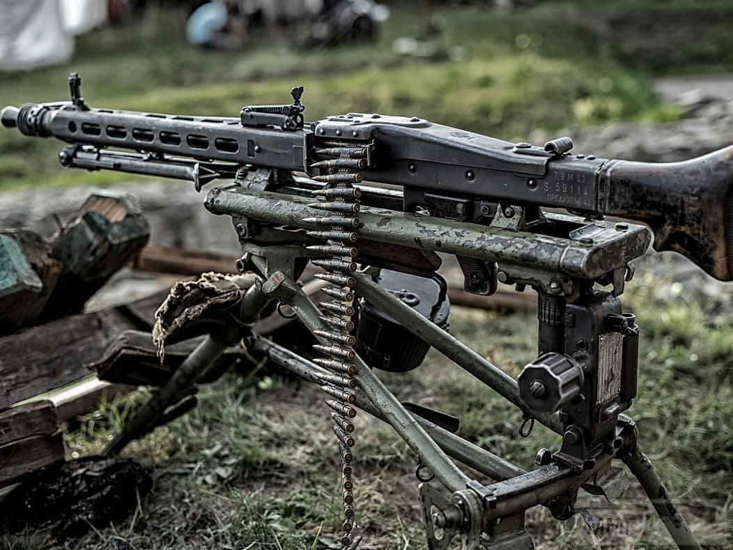 59715 - MG-42 Hitlersäge (Пила Гитлера) - история, послевоенные модификации, клейма...