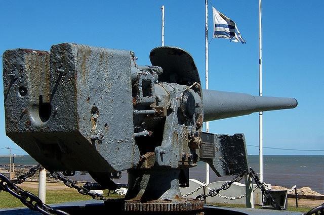 5987 - Корабельные пушки-монстры в музеях и во дворах...