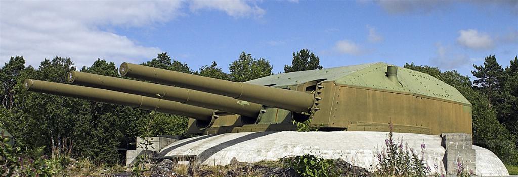5991 - Корабельные пушки-монстры в музеях и во дворах...
