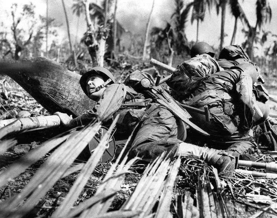 59994 - Военное фото 1941-1945 г.г. Тихий океан.