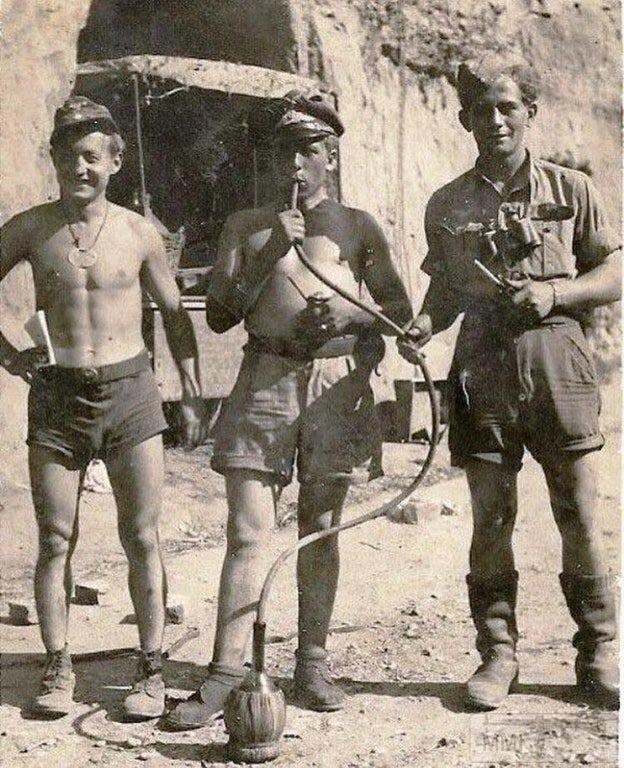 61041 - Военное фото 1939-1945 г.г. Западный фронт и Африка.