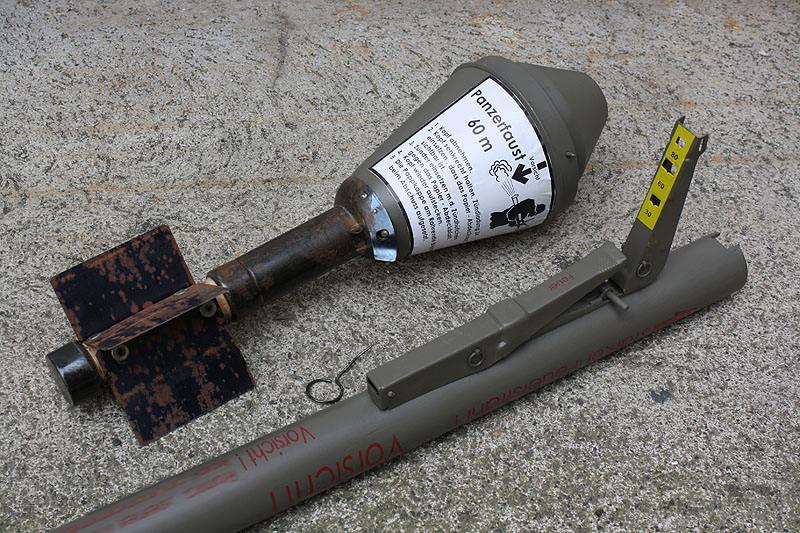6126 - Ручной противотанковый гранатомет Panzerfaust (Faustpatrone)