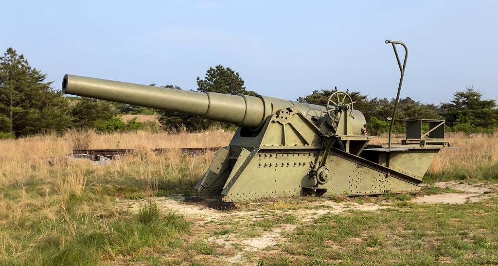 6139 - Корабельные пушки-монстры в музеях и во дворах...