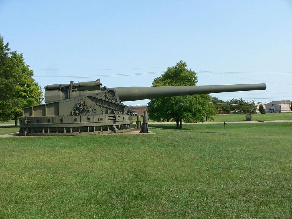 6143 - Корабельные пушки-монстры в музеях и во дворах...