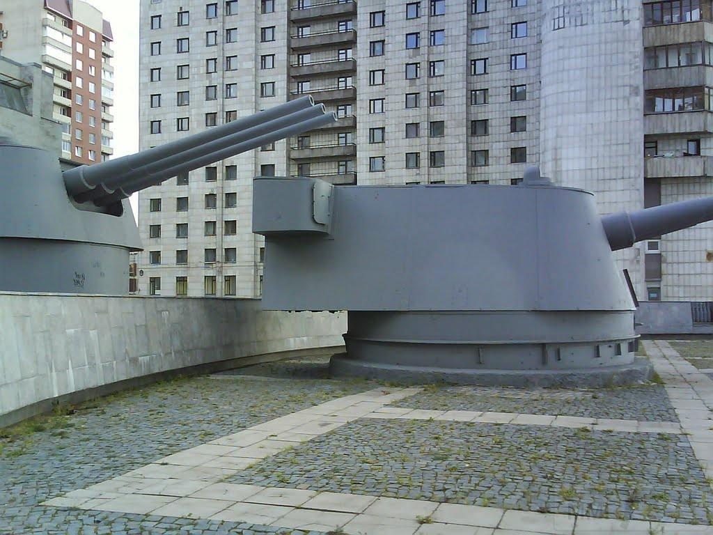 6155 - Корабельные пушки-монстры в музеях и во дворах...