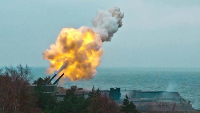 6187 - Корабельные пушки-монстры в музеях и во дворах...