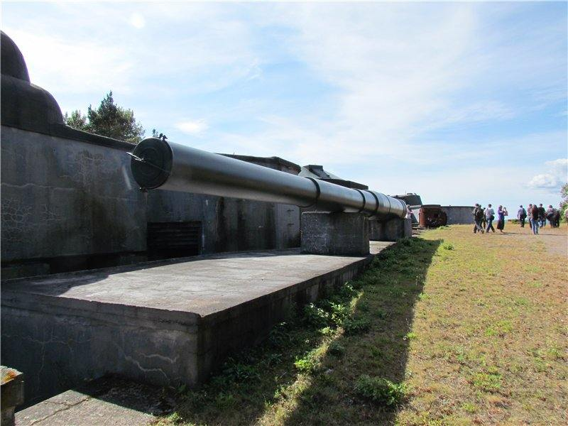 6192 - Корабельные пушки-монстры в музеях и во дворах...