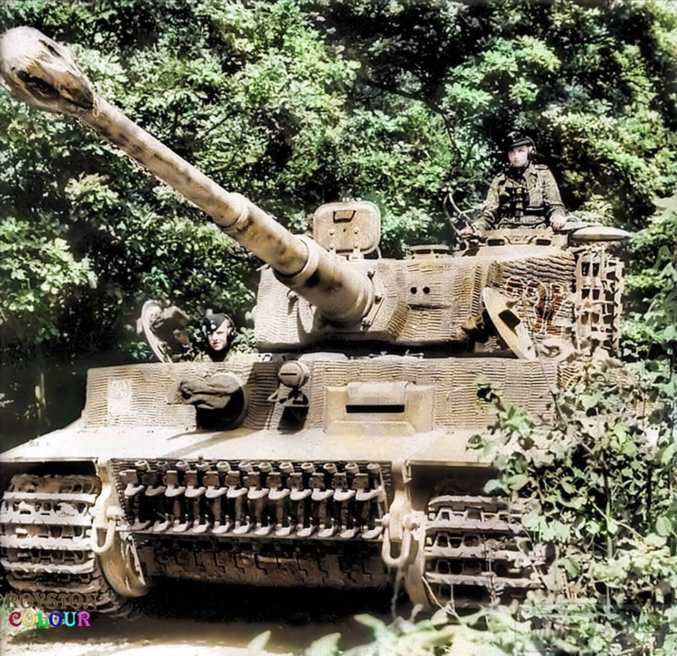 62361 - Танк Тигр - лучший танк Второй Мировой Войны?