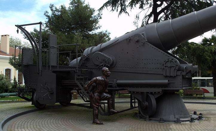 6265 - Корабельные пушки-монстры в музеях и во дворах...