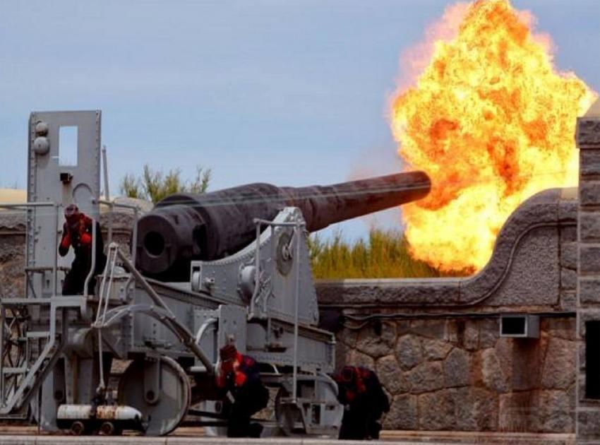 6271 - Корабельные пушки-монстры в музеях и во дворах...