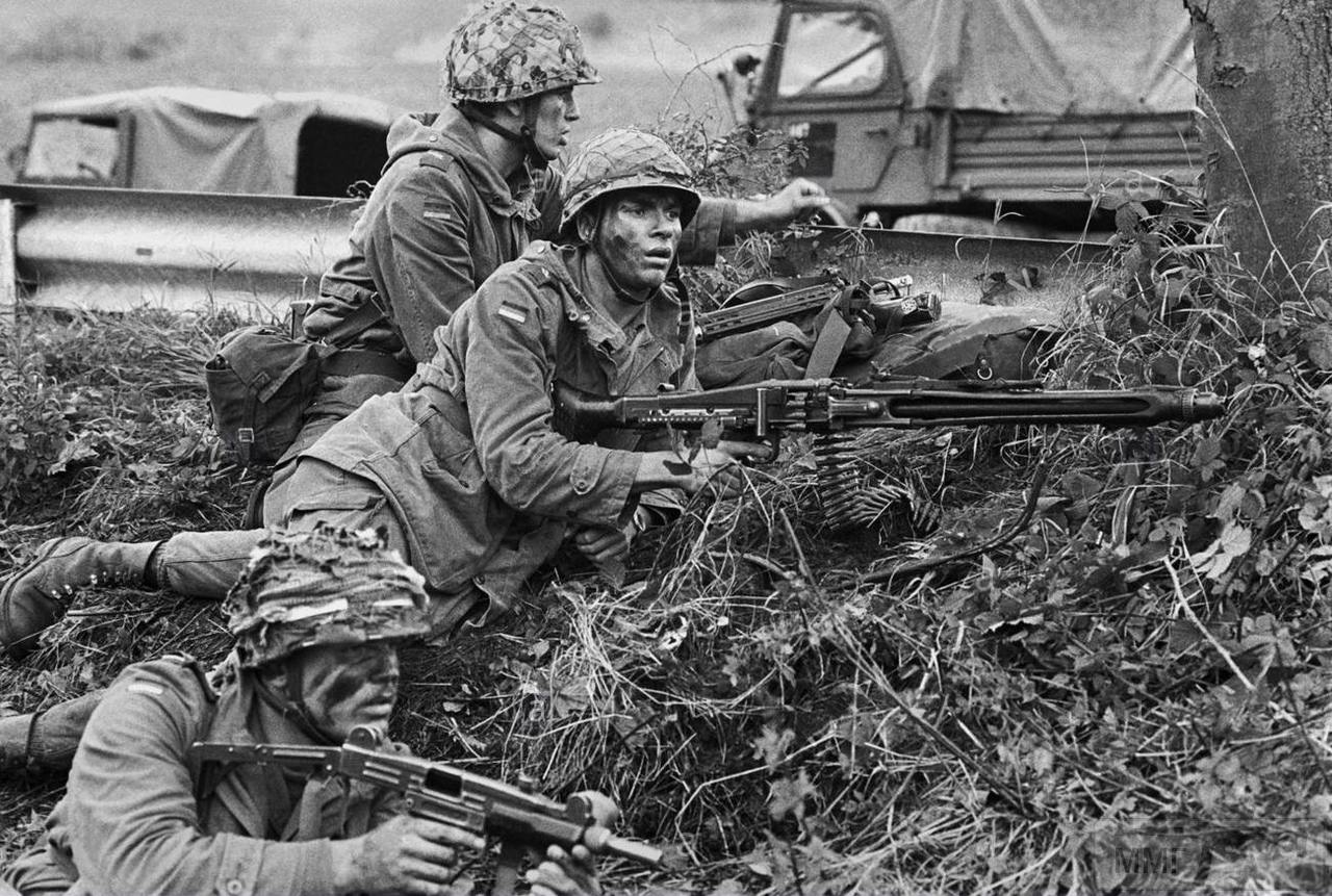 62999 - MG-42 Hitlersäge (Пила Гитлера) - история, послевоенные модификации, клейма...