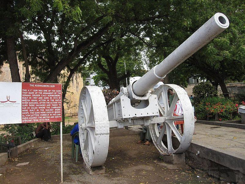 6303 - Корабельные пушки-монстры в музеях и во дворах...