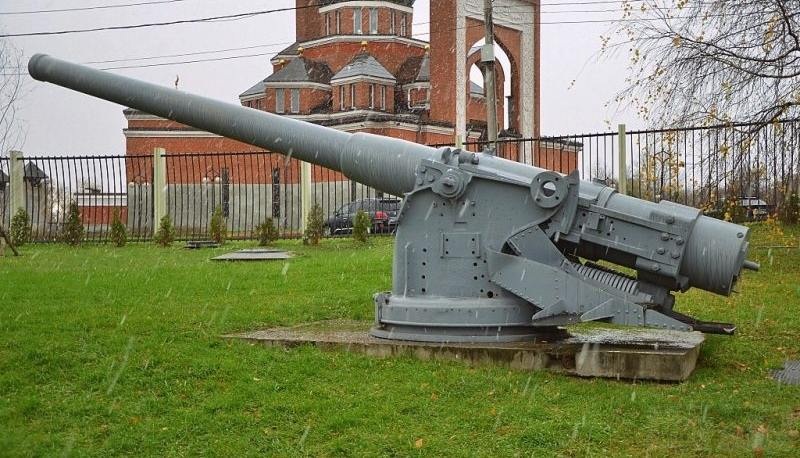 6331 - Корабельные пушки-монстры в музеях и во дворах...