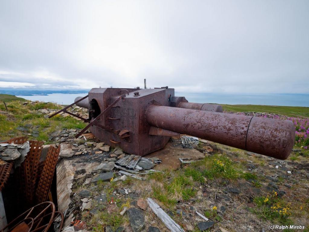 6425 - Корабельные пушки-монстры в музеях и во дворах...
