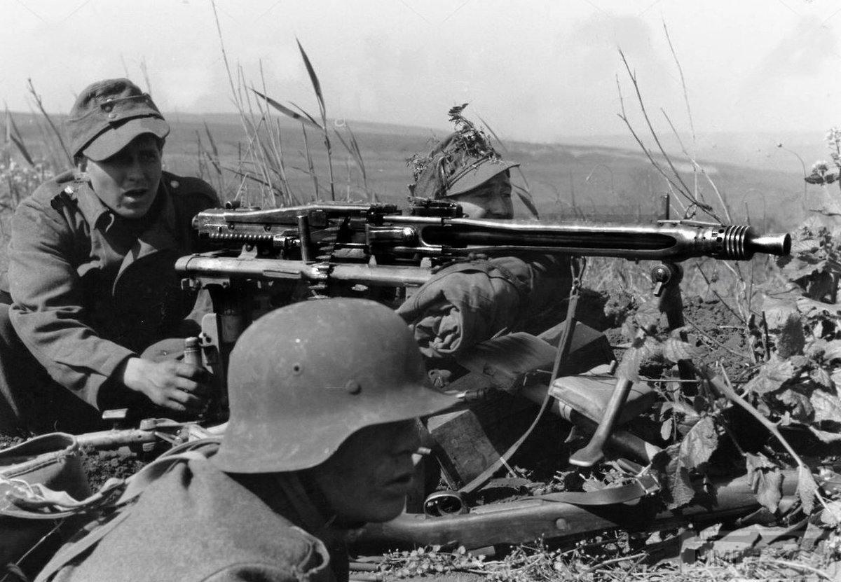 64298 - MG-42 Hitlersäge (Пила Гитлера) - история, послевоенные модификации, клейма...