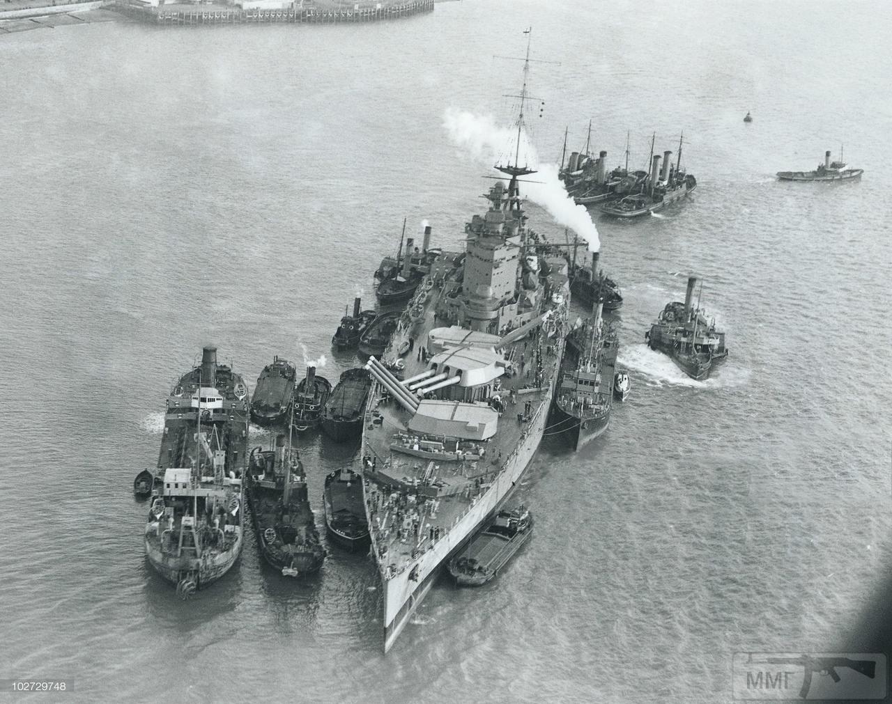 64695 - Броненосцы, дредноуты, линкоры и крейсера Британии