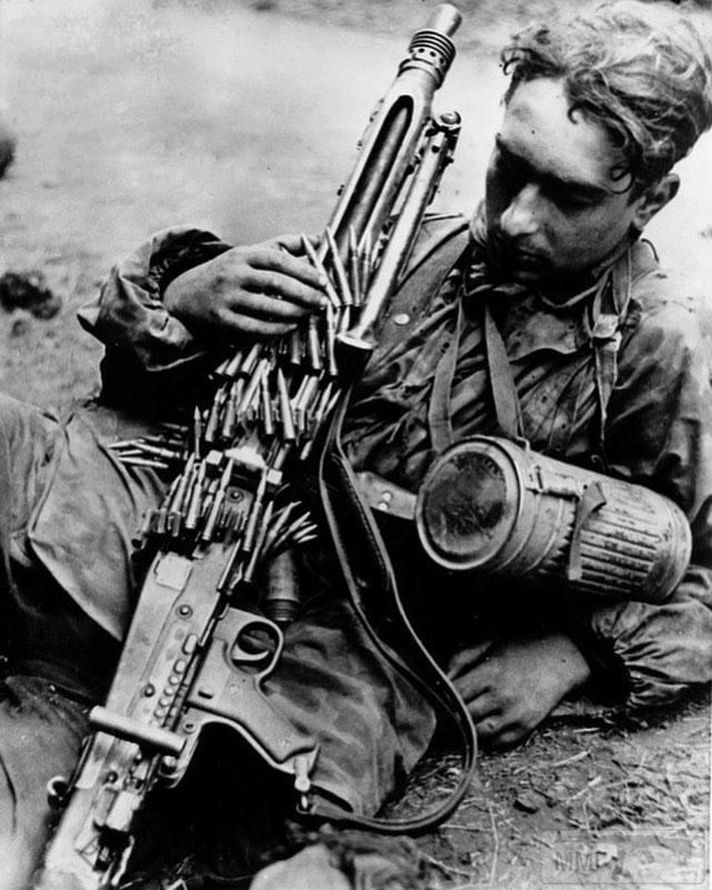 65108 - MG-42 Hitlersäge (Пила Гитлера) - история, послевоенные модификации, клейма...