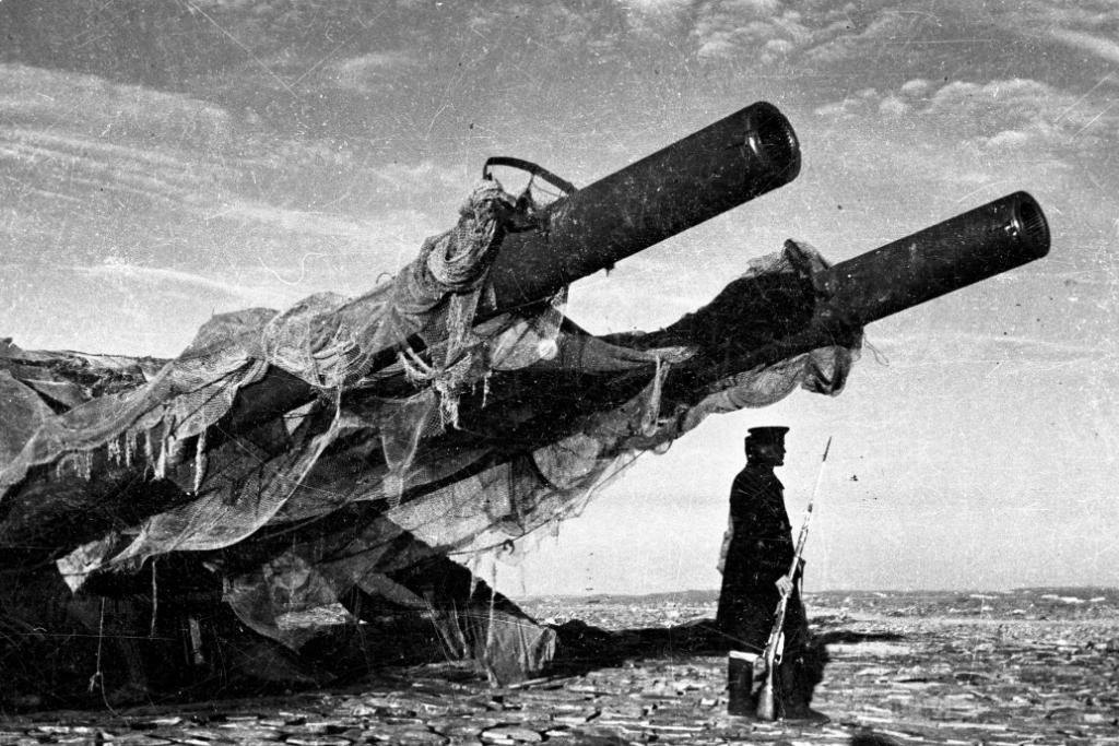 6514 - Корабельные пушки-монстры в музеях и во дворах...