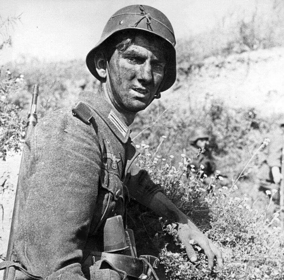 65171 - Военное фото 1941-1945 г.г. Восточный фронт.