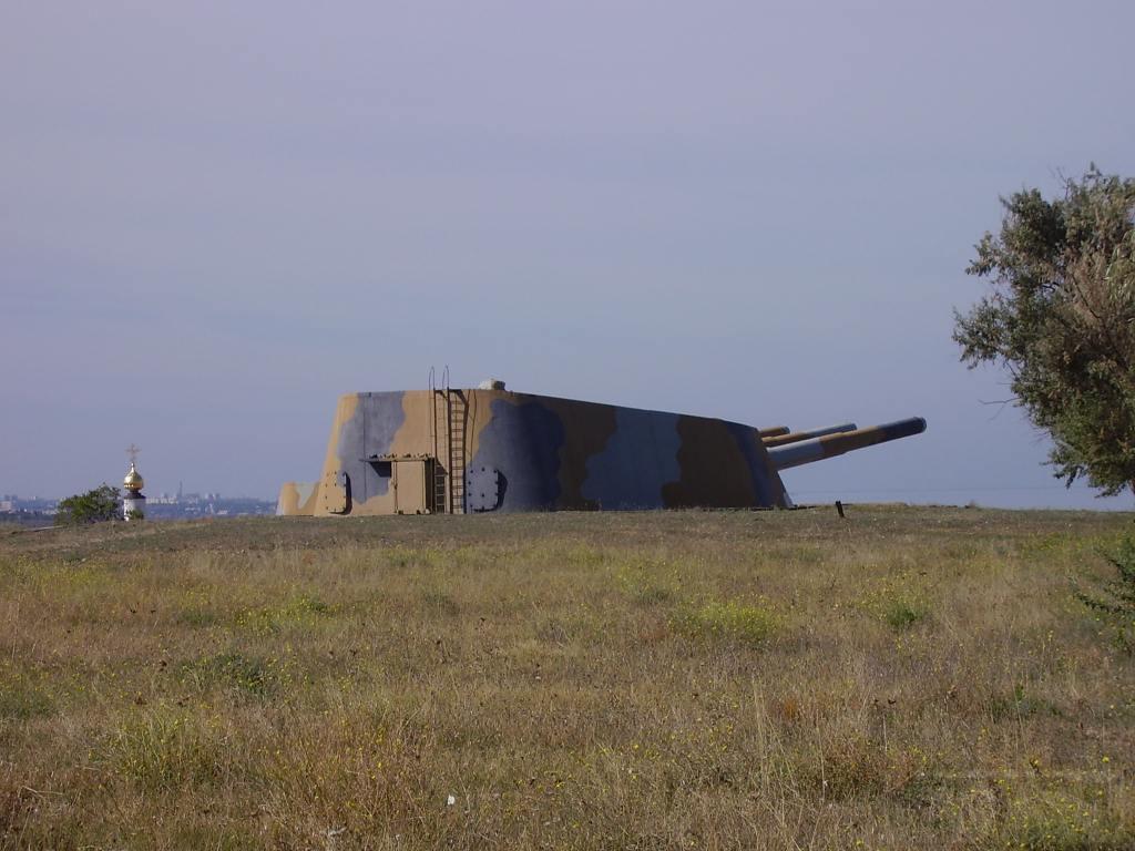 6518 - Корабельные пушки-монстры в музеях и во дворах...