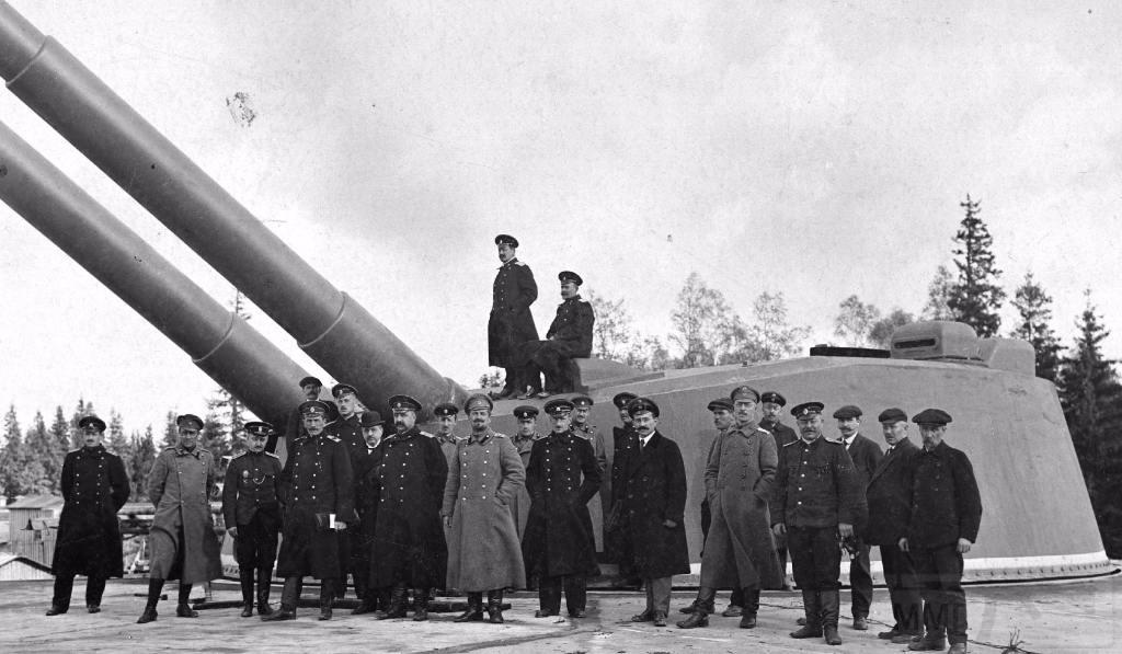 6581 - Батарея №10б Морской крепости Императора Петра Великого на острове Нарген в 1917 г.